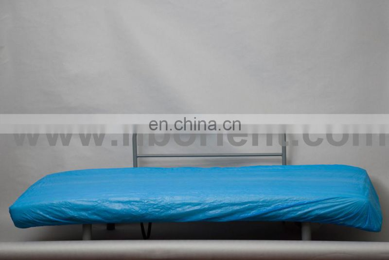 chinese supplier of Disposable sterile waterproof CPE bedcover