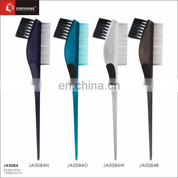 wholesale high quality professional plastic hair dye brushes and combs for salon