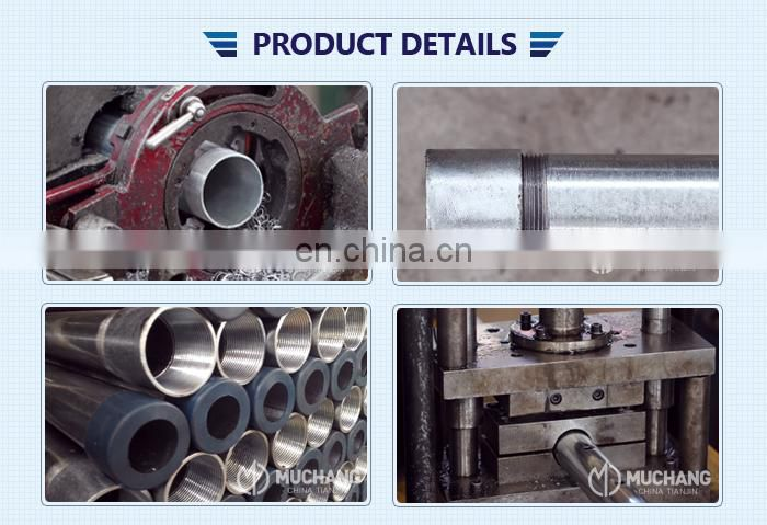 Galvanized steel pipe flexible 2 inch schedule 40 gi pipe prices