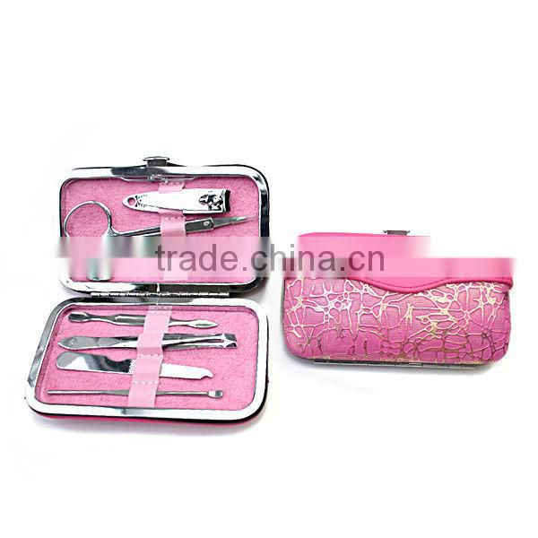 Lovely Manicure Set pink mini beauty tool