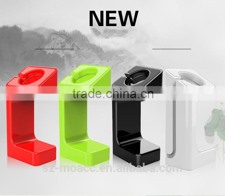2015 New Arrive Durable Plastic stand Charging Dock for apple watch