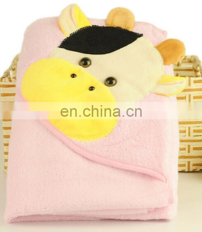 Hot selling special design kids hooded towel