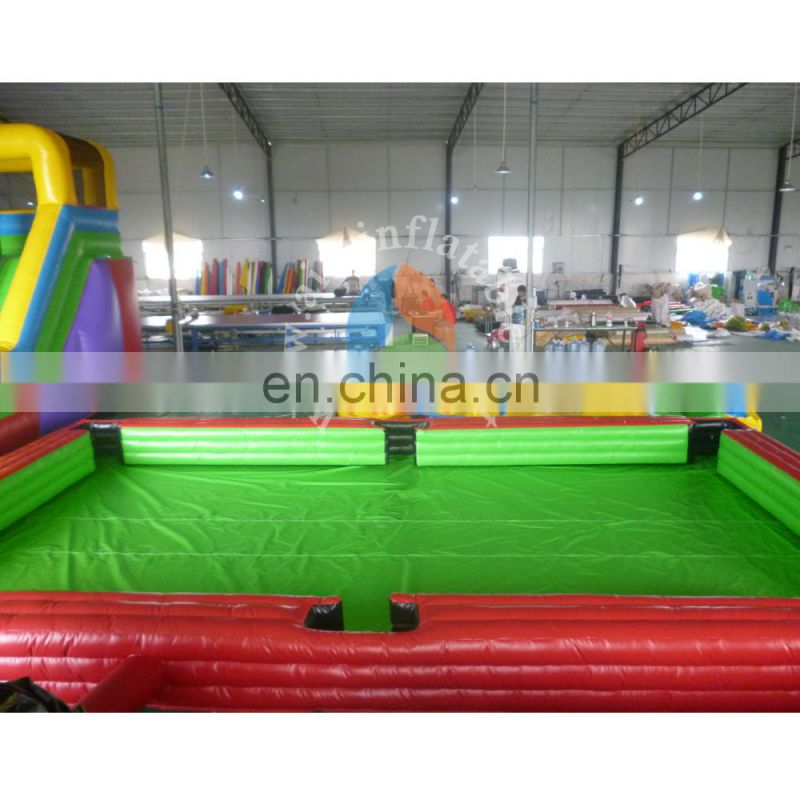 hot selling inflatable table snooker ball football snooker, football snooker inflatable snooker for sale,