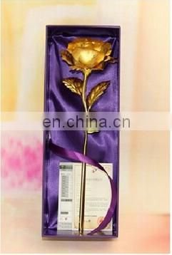 24K Gold Foil Rose Wedding Gift Souvenirs , Valentine's Day, Birthday, Mother's Day