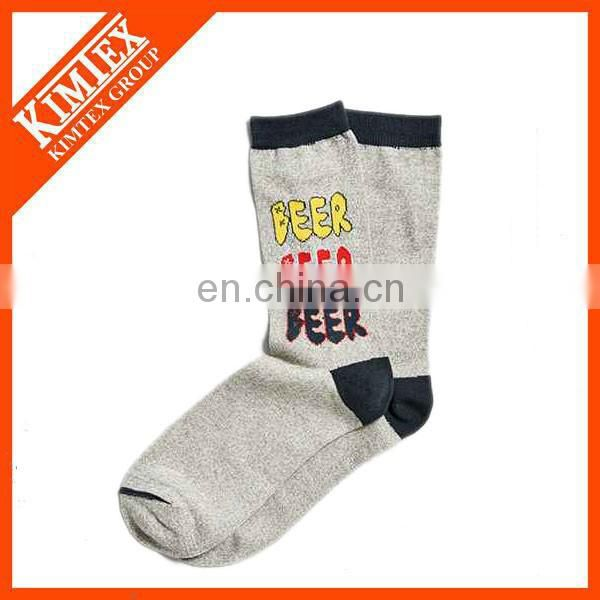 Wholesale sport custom man crew sock