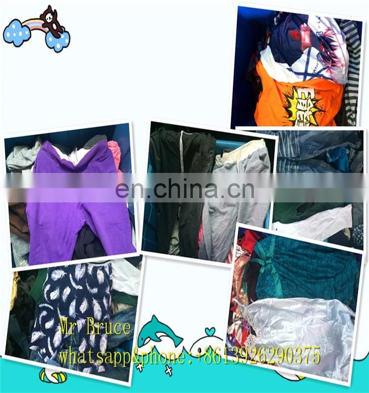 Korean Used Clothing Children's Wears for Spring