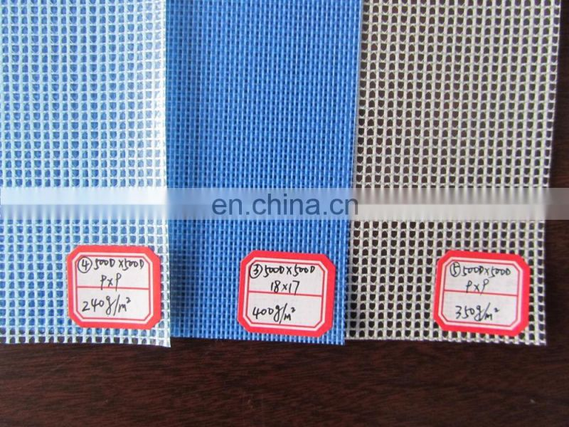 Vinyl Coated Polyester Fabric PVC Mesh Tarpaulin Fabric For Outdoor Furniture