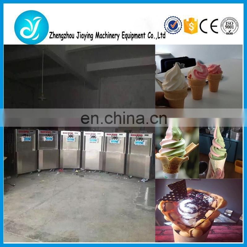 Soft serve ice cream machine/ice cream making machine