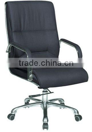 Leather office chairs no wheels (6009C)