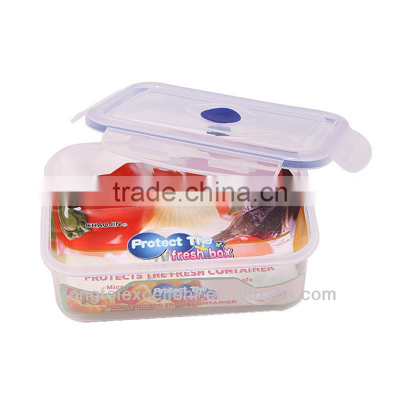 Hot sale china new product container box plastic tin