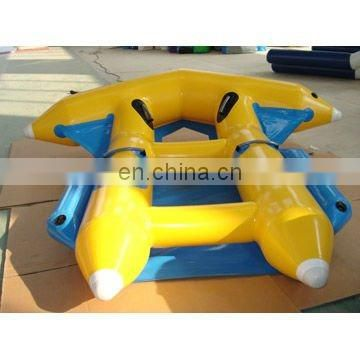 inflatable fly fish water game flying fish toy