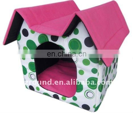 Plush double corner pet hourse