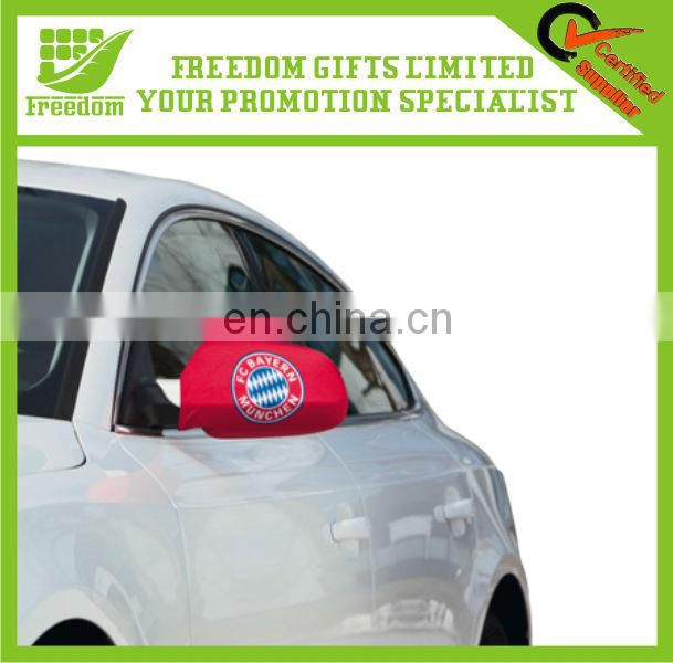 Promotional Customized Polyester Car Wing Mirror Flag