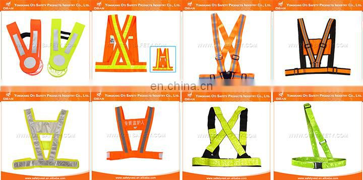 Professional design new style warning reflective safety belt