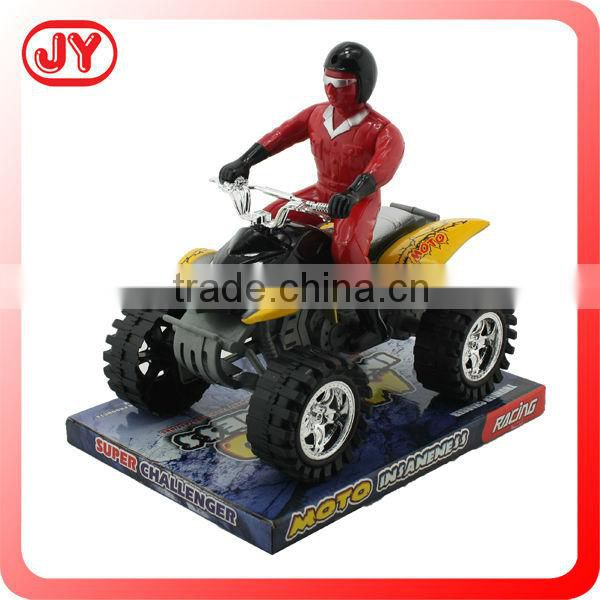 Kids plastic friction motorcycle toy