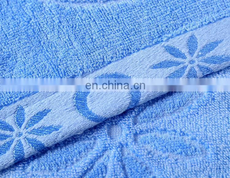 Hot Sale Moon Design Jacquard Bamboo Fiber Beach Towel