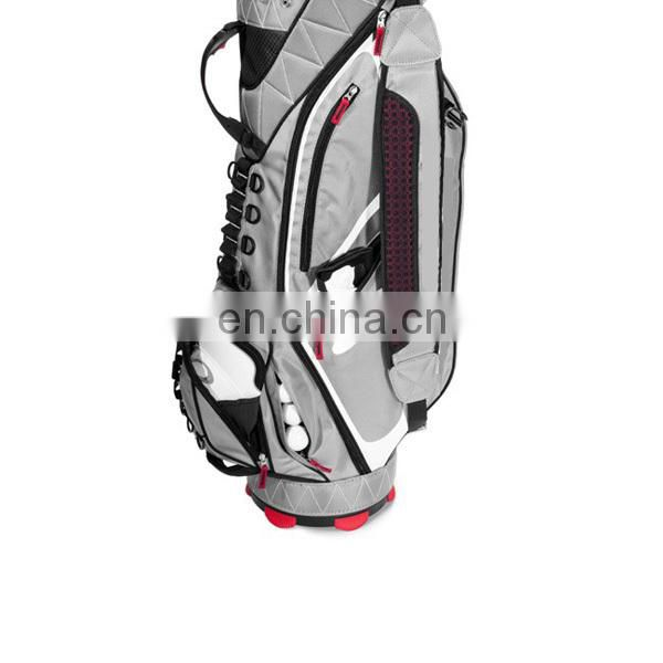 Real leather special designer golf bag for player