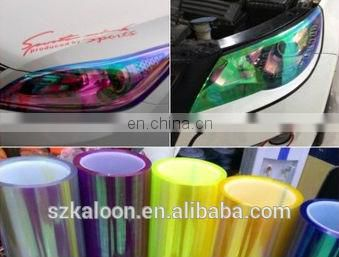 3D headlight vinyl tint film, 3D car taillight film, vinyl film for car