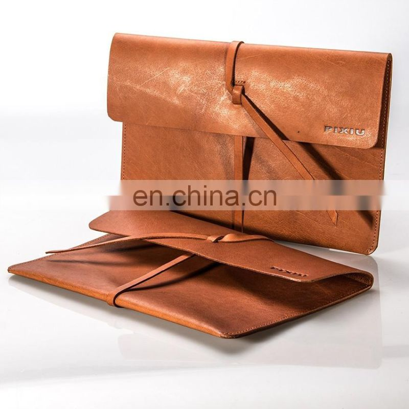 Top Factory Wholesale Embossed Leather Certificate Holder File Folder