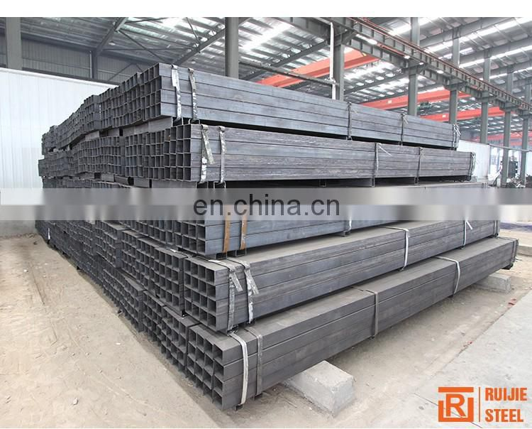 Q195 MS Black Carbon Steel Square Tube