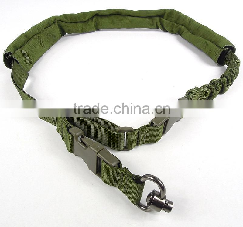 SUNGUN SLG0007-G Tactical Rifle Carry Spring Buckle Sling One Point Fixation Airsoft Gun Shooting