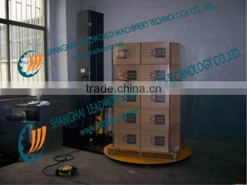 New style fully automatic pallet stretch wrapping machine