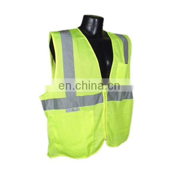 Best selling hi vis reflective safety vest with low price