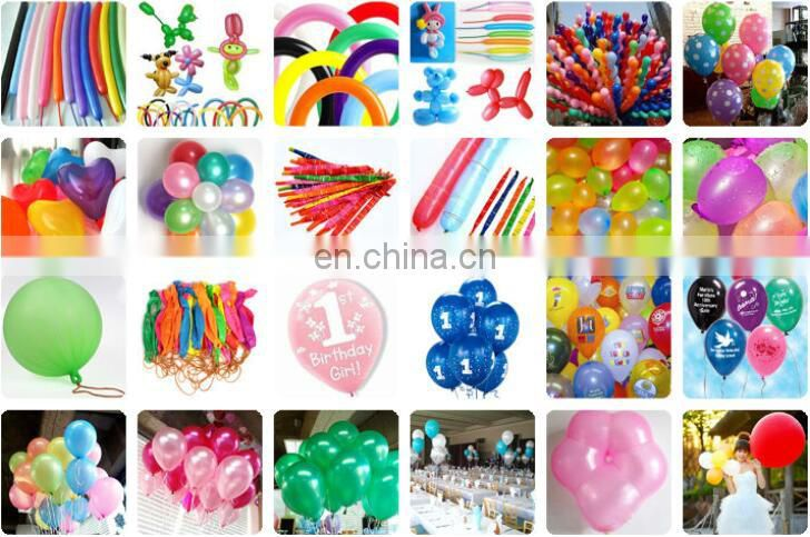 hot selling of colorful custom helium latex balloon for different party