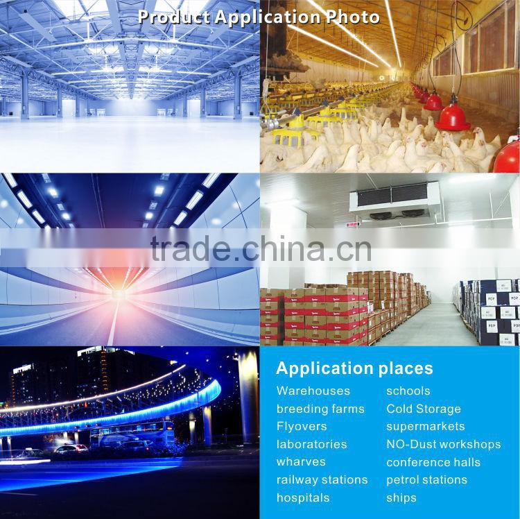 30w integrated square shape refrigerator tube super brights 120cm t8 led tube waterproof