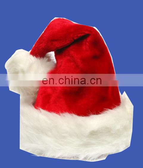 2017 new cheapest Kids Long Plush Santa Hat