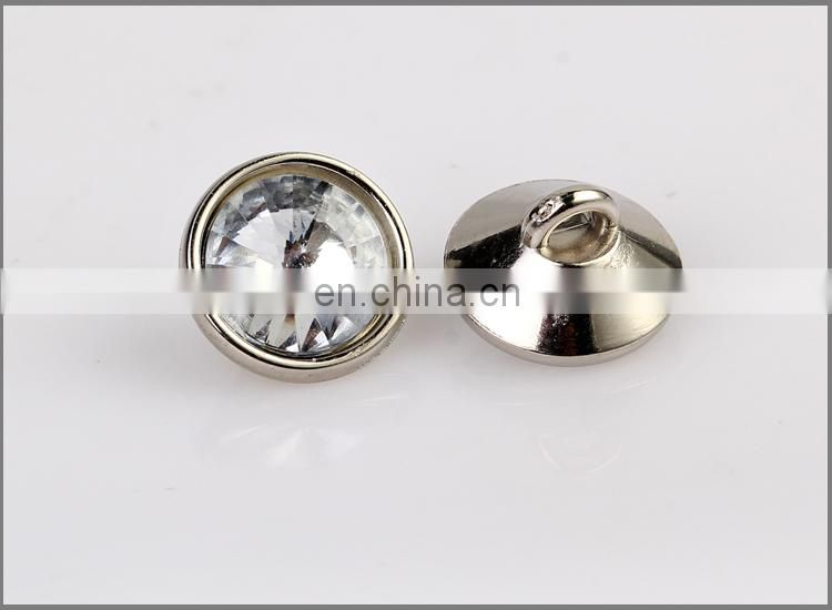 Plating Plastic ABS Shank Buttons for Clothing BA60389