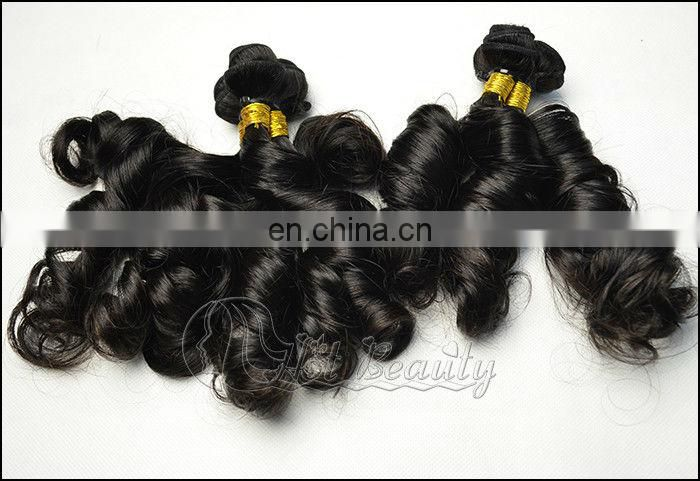 New Arrive 6A Best Quality Sprial Curl Brazilian Ombre Weave Hair