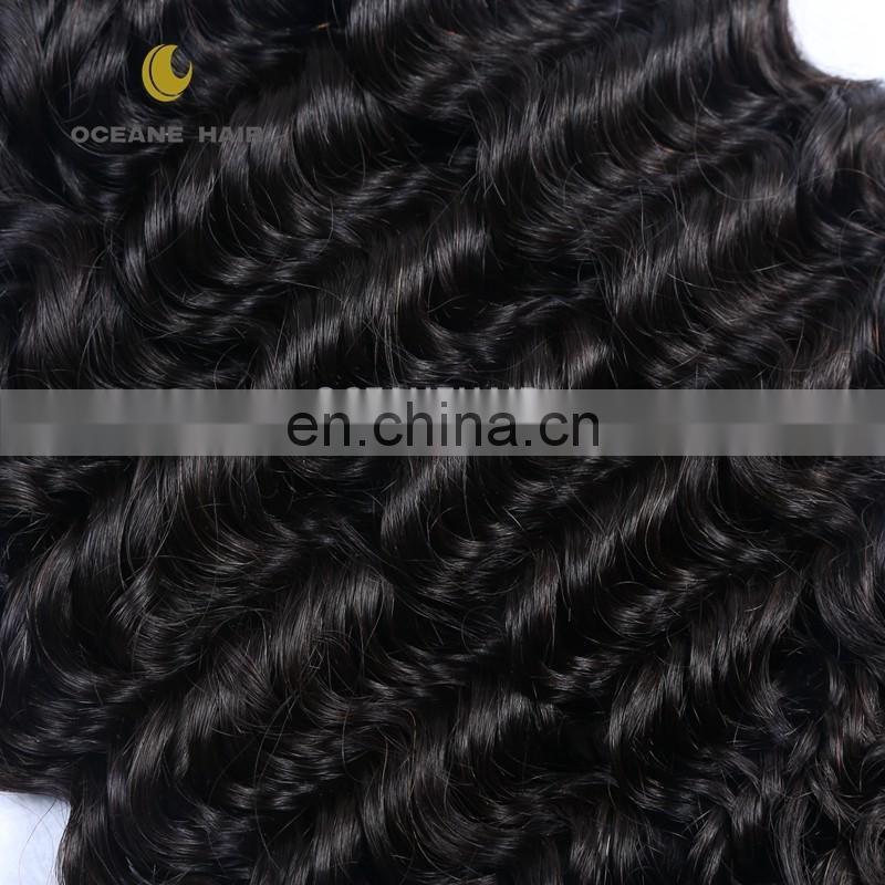 remy raw unprocessed human hair Natural indiana Remy Human