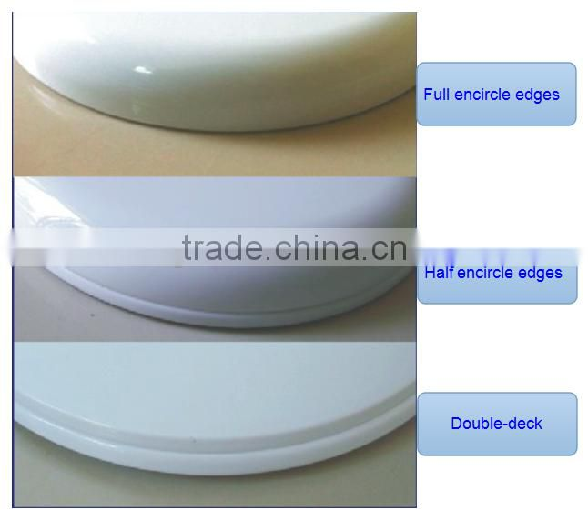 High Quality Square Family Toilet Seat With Stainless Steel Hinge