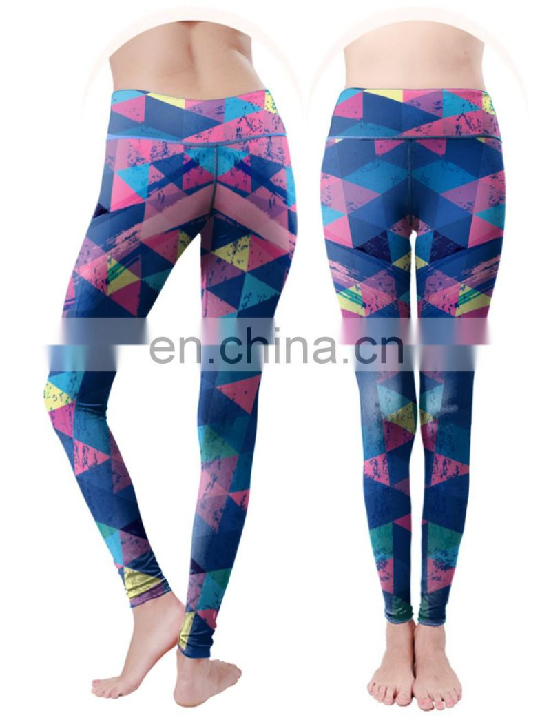 colorful leggings adult compression tights for women fitness