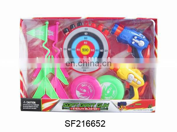 N+POPULAR ITEM--SOFT BULLET GUN.SUPER SHOT GUN WITH TARGET.SF216633