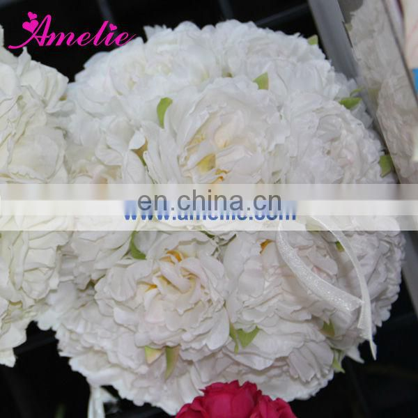 Wholesale artificial flower ball for wedding decor