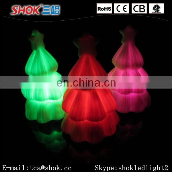 Cheap Custom LED Christmas Promotional Gifts Cute Mini Christmas Tree Gifts