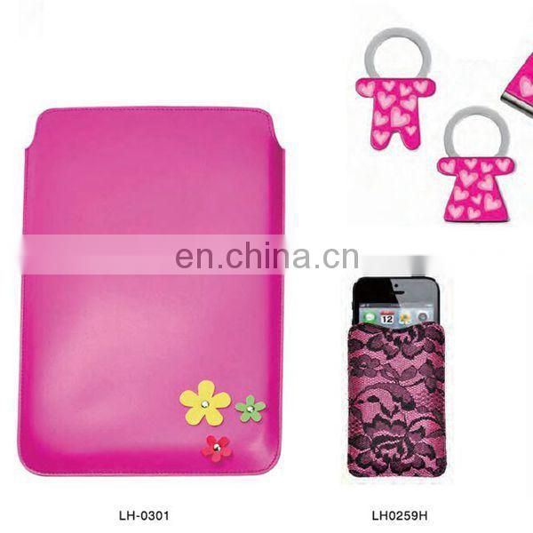 PROMOTIONAL GIFTS ITEMS GIRL MOBILE BAG LEATHER CELL PHONE CASE
