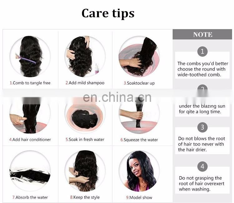 250% Density Full Lace Wig Jet Black Color Hair Middle Part Virgin Peruvian Hair Wig With Baby Hair For Black Women