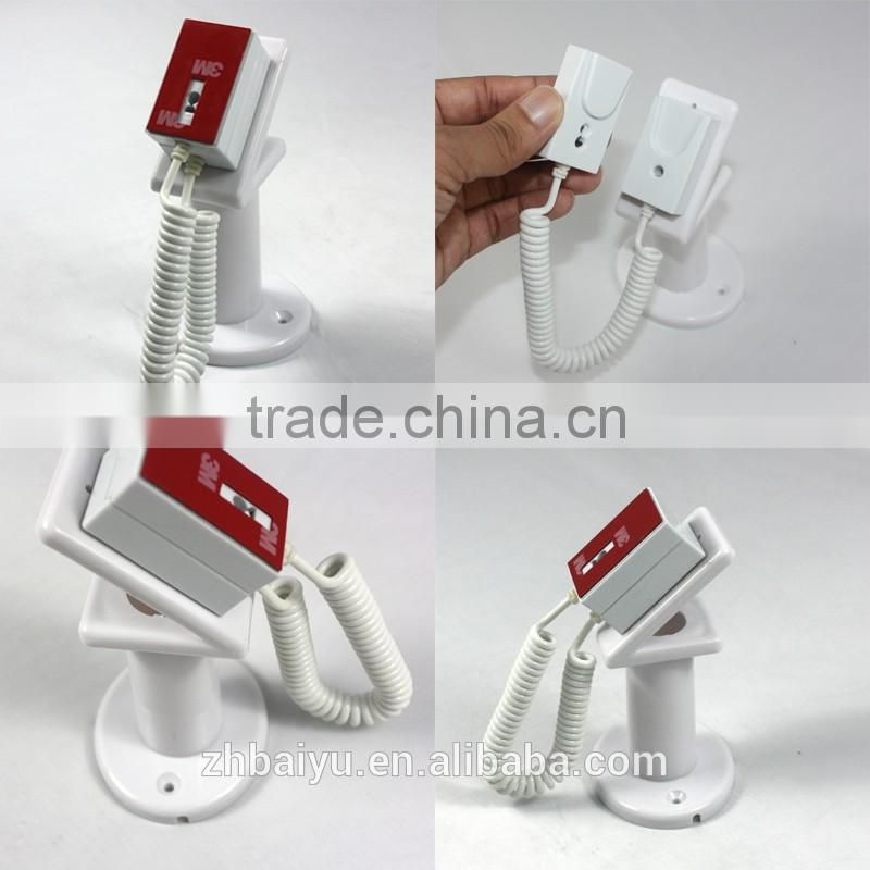 Brand New White Anti-Theft Security Telescopic Cell phone Mobile Phone Display Stand Holder Unit