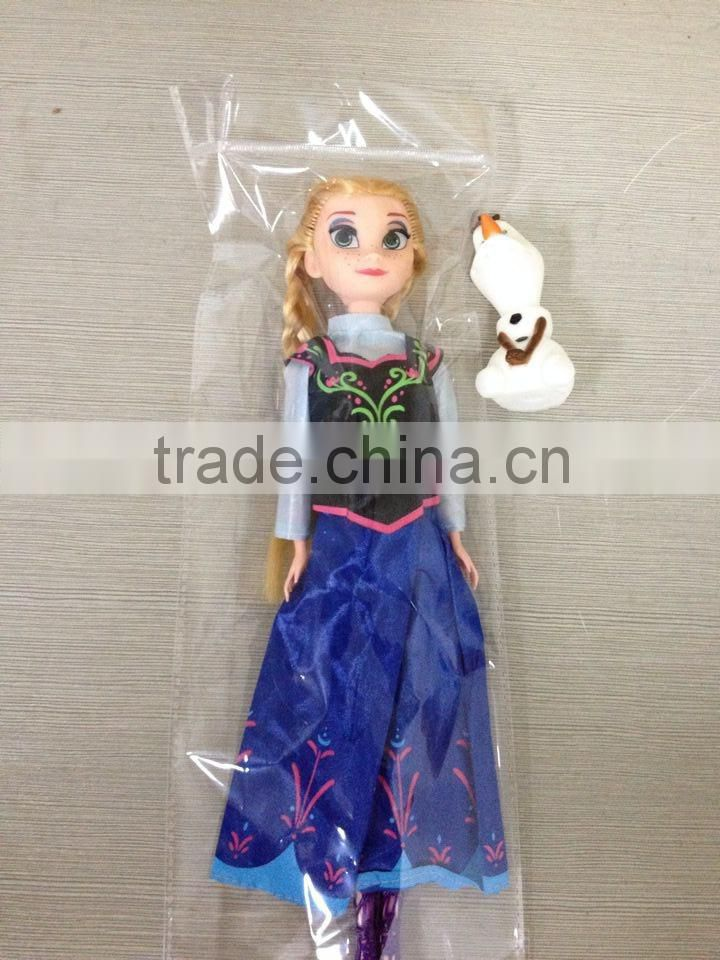 DIHAO movie character movable anime Frozen articulated toys/oem action figure/high quality action figure