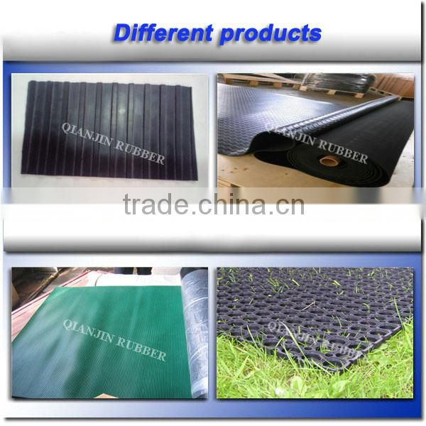 Most Popular !!! Rubber farm dairy mat/cow bed matting/horse flooring