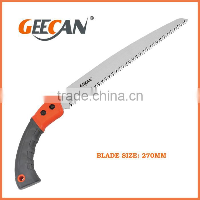 65Mn Carbon Stell Saw With PP+TPR Handle