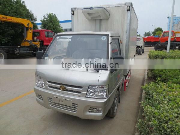28CBM DONGFENG CAPTAIN 4*2 Light Duty Refrigerated Truck