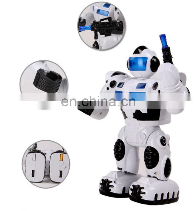 Popular kids ABS battery operated robot toy all certificate
