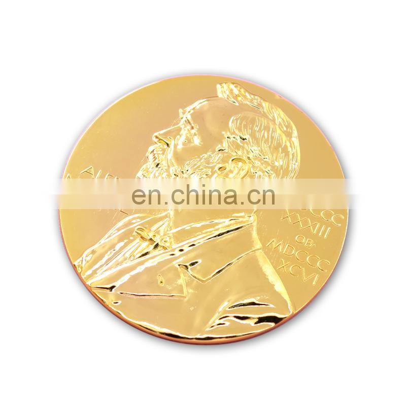 Custom round golden metal souvenir coins/old coins wholesale