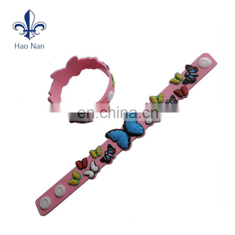Hot selling cheap products new style custom shape silicone bracelets