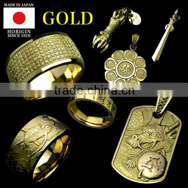 Luxury and Premium gold plated jewellery pendant for Fashionable made in japan , Other pendants also available
