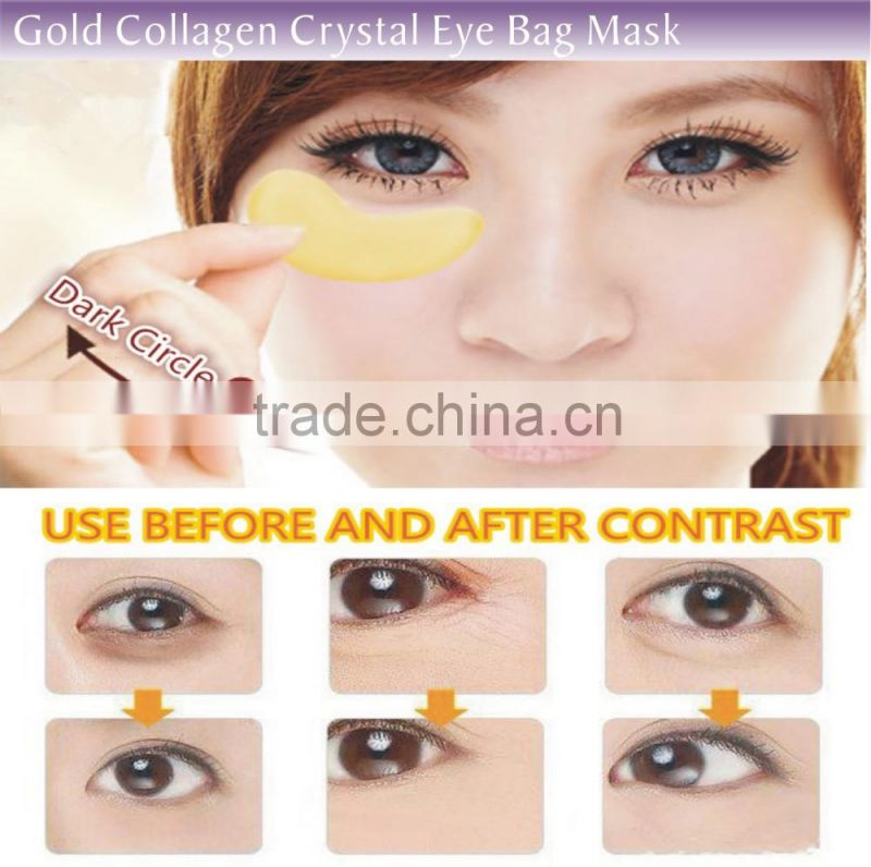 Best moisturizing and Whitening 24k Gold Anti-Dark Active Collagen Eye Mask/ Eye Pad